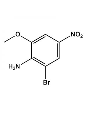 2-Bromo-6-methoxy-4-nitrobenzeneamine
