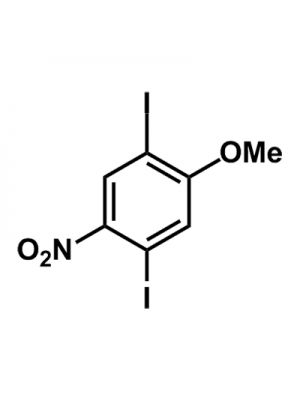 Benzene, 1,4-diiodo-2-methoxy-5-nitro