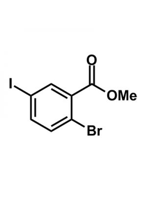 2-Bromo-5-iodobenzoic acid methyl ester
