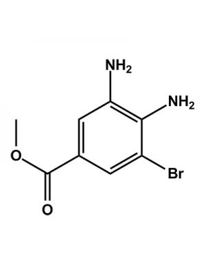 Benzoic acid, 3,4-diamino-5-bromo, methyl ester
