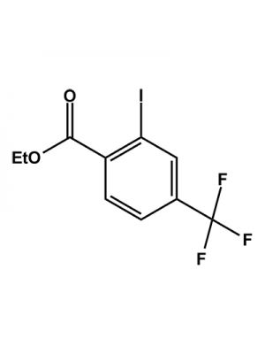 2-Iodo-4-trifluoromethylbenzoic acid ethyl ester