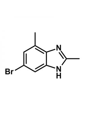 1H-Benzimidazole, 5-bromo-2,7-dimethyl-