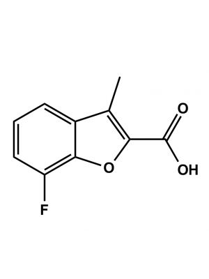 7-Fluoro-3-methyl-1-benzofuran-2-carboxylic acid