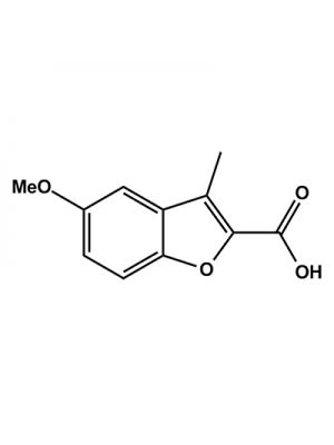 2-Benzofurancarboxylic acid, 5-methoxy-3-methyl-